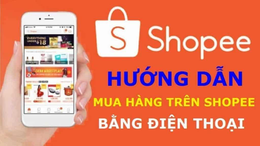 Cách mua hàng trên Shopee bằng điện thoại