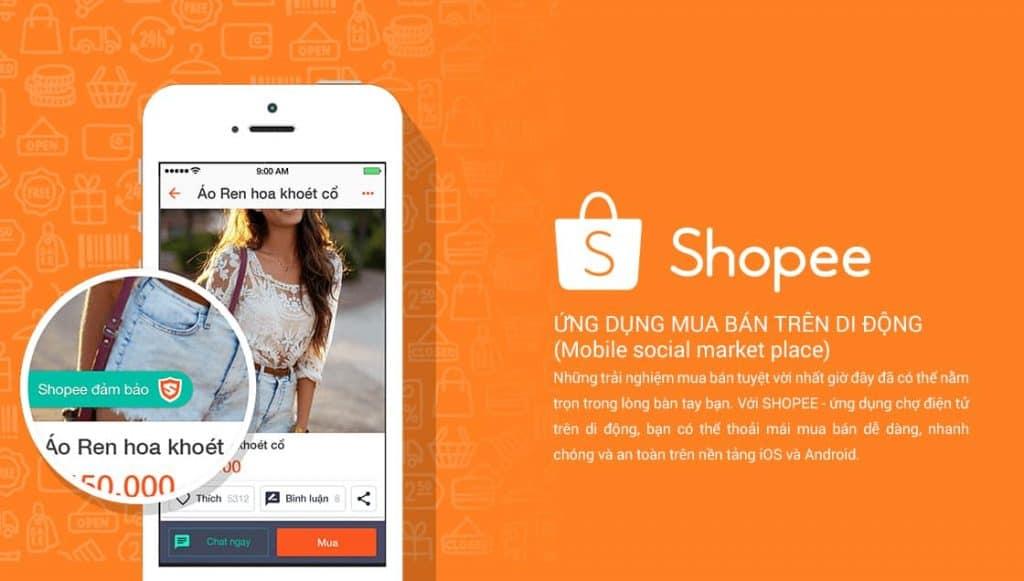 Shopee là gì ? ứng dụng mua bán trên di động