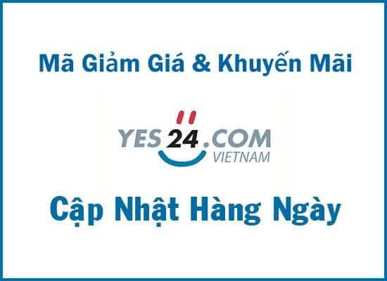 Mã giảm giá Yes24 khuyến mãi toàn quốc cập nhật hàng ngày