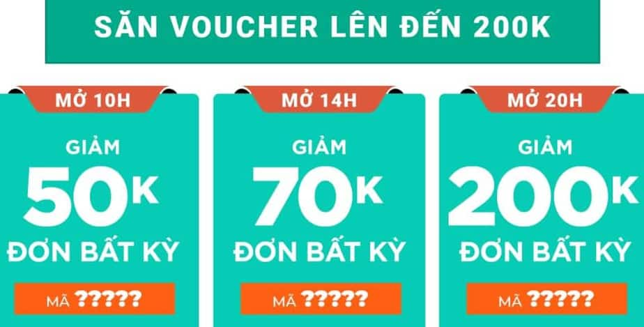 Săn voucher Shopee