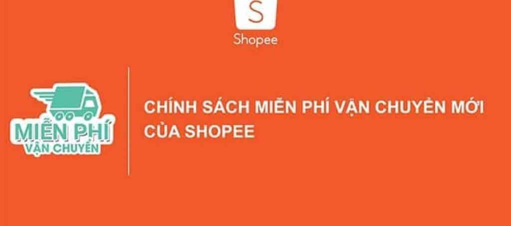 Chính sách miễn phí vận chuyển mới của Shopee
