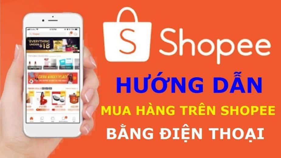 Hướng dẫn đặt hàng trên Shopee bằng điện thoại