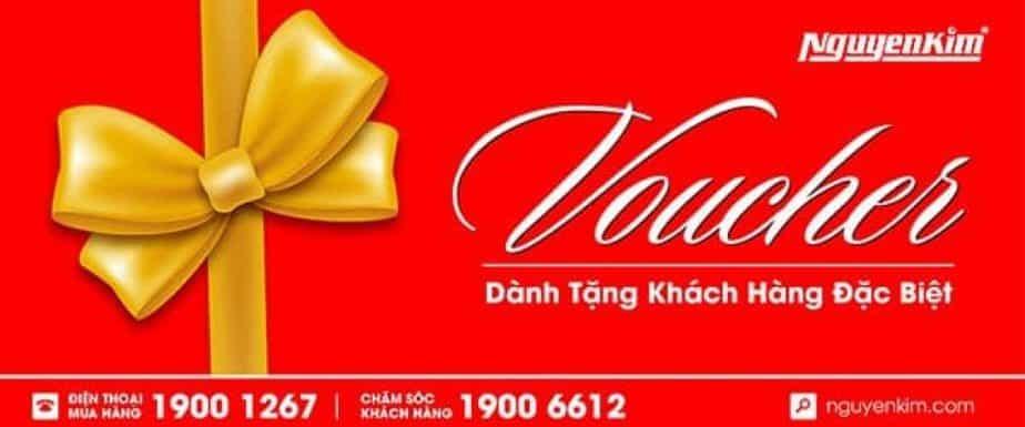 Voucher Nguyenkim dành tặng cho khách hàng đặc biệt