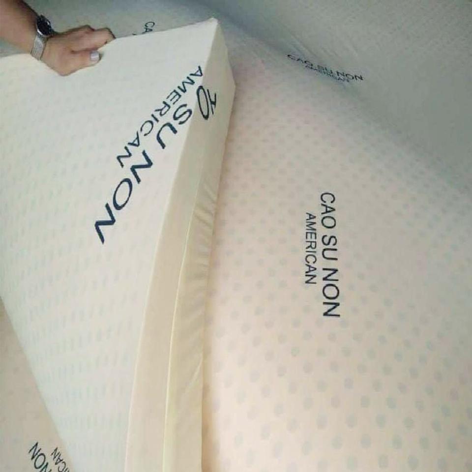 Nệm Cao Su Non American 1m6x2mx10cm