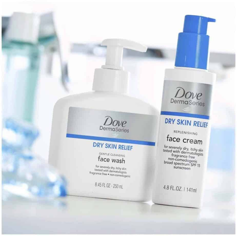 Dove DermaSeries Dry Skin Relief SPF15 Face Cream