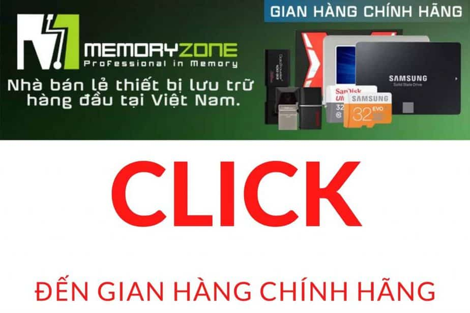 gian hàng chính hãng memory zone