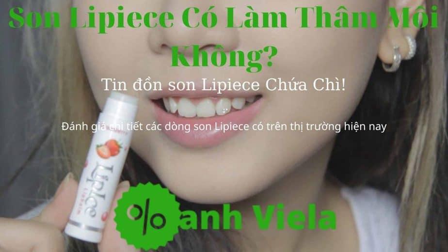 Son Lipice có làm thâm môi không