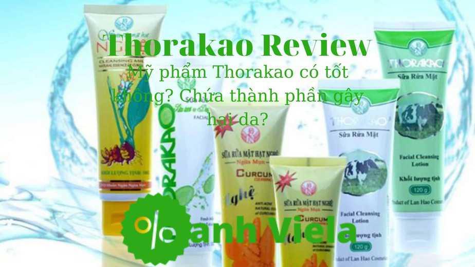 Review mỹ phẩm Thorakao