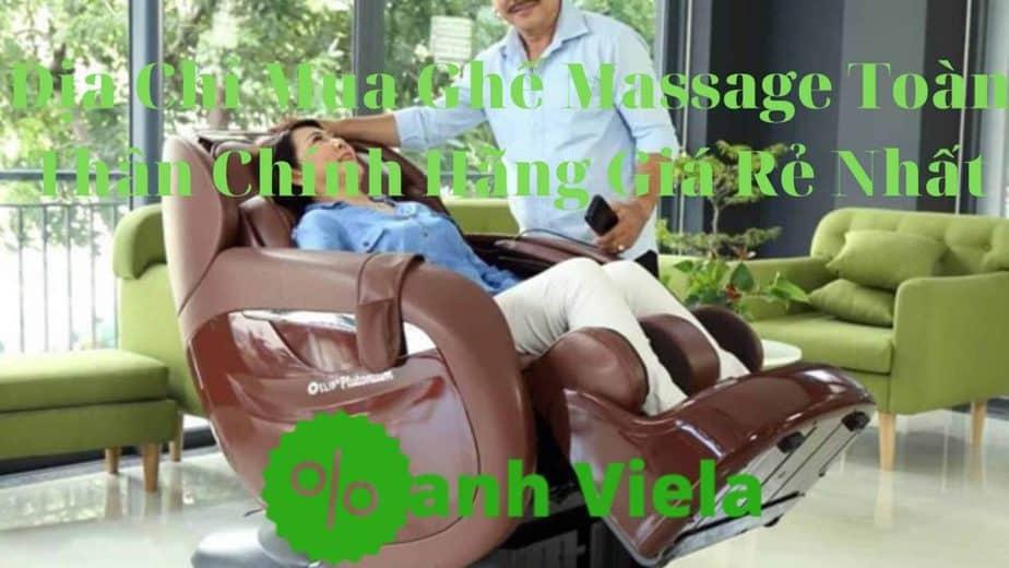 mua ghế massage toàn thân chính hãng giá rẻ