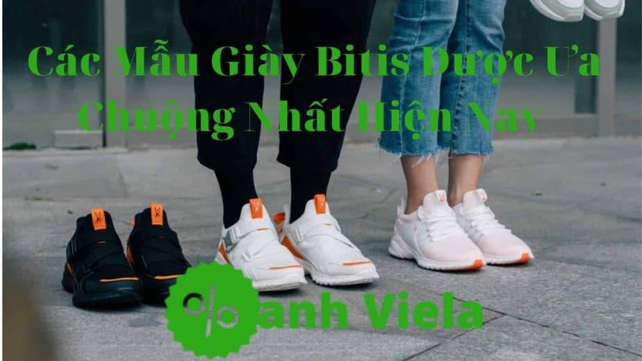 Các mẫu giày Bitis được ưa chuộng nhất