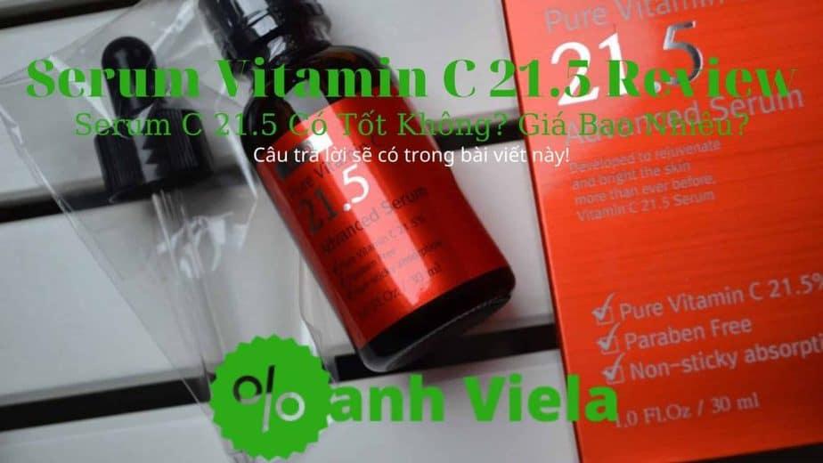 Đánh giá Serum Vitamin C 21.5