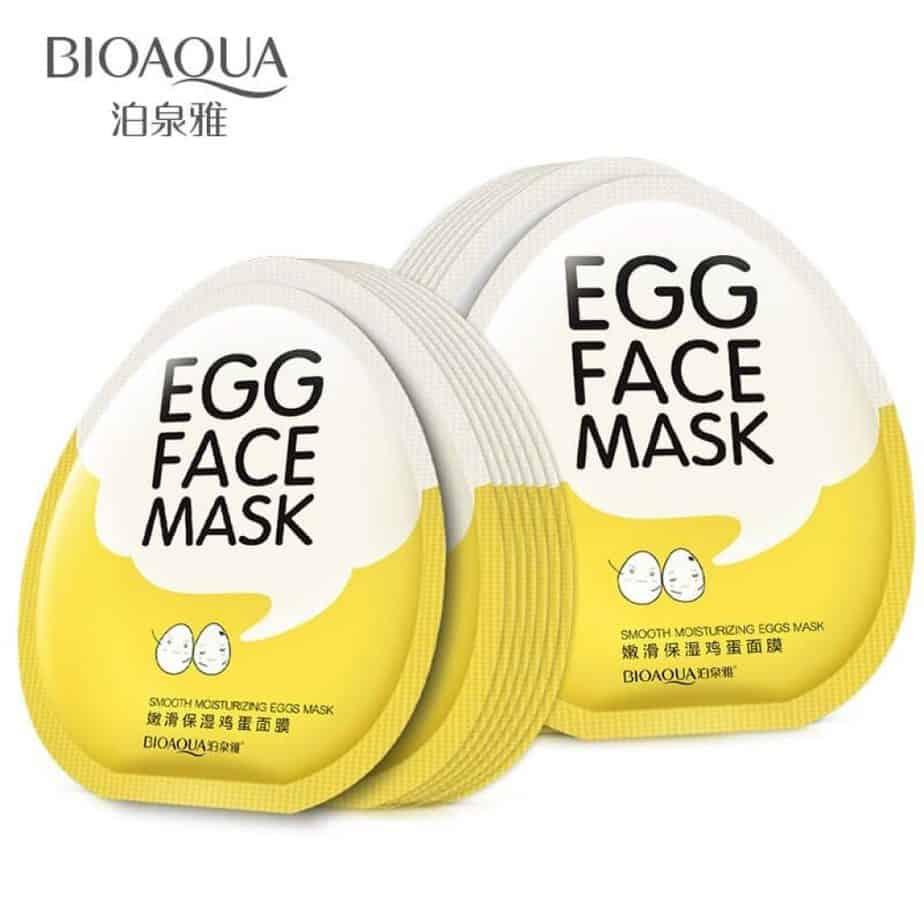 Smooth Moisturizing Egg Face Mask