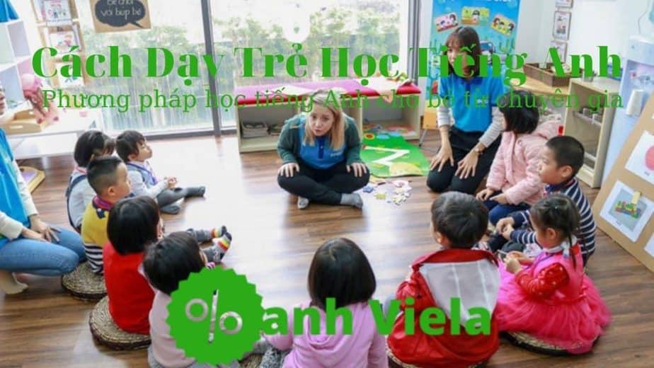 Cách dạy tiếng Anh cho bé