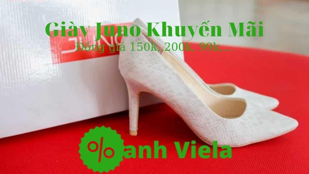 Giày Juno khuyến mãi