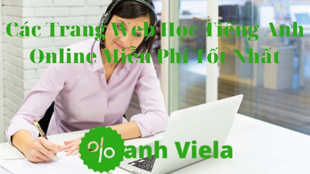 Học tiếng Anh Online trực tuyến miễn phí
