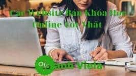 Website bán khóa học trực tuyến Online tốt nhất