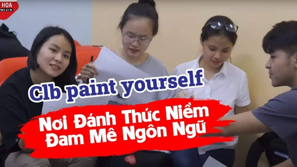 CLB tiếng Anh Paint Yourself