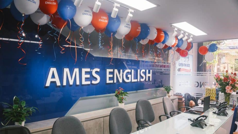 Ames luyện thi Ielts và tiếng Anh trẻ em