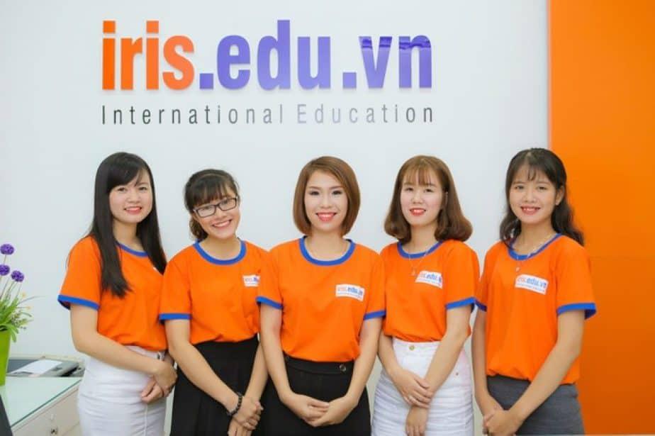 Iris chuyên đào tạo tiếng Anh giao tiếp