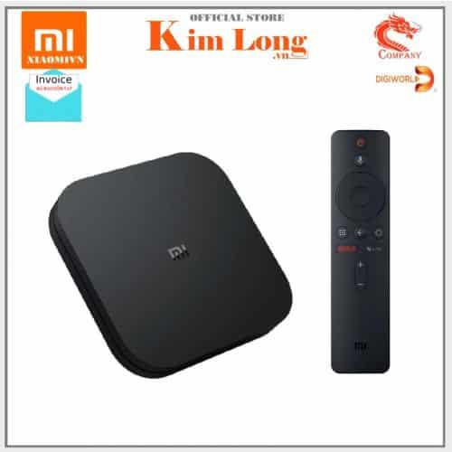 Android tivi box Xiaomi Mibox S 4K CPU 4X , 2GB|8GB Wifi, Bluetooth 4.2 , Quốc tế Tiếng Việt, PFJ4090US...