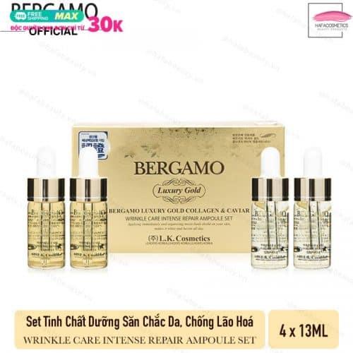 bao bì Serum Bergamo