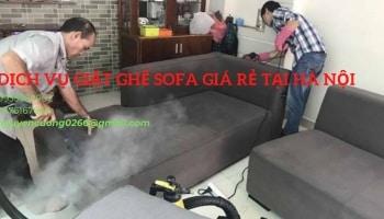 Dịch vụ giặt ghế sofa giá rẻ tại nhà Hà Nội – Công ty vệ sinh Việt Nhật