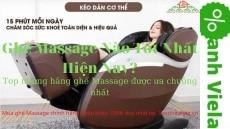 Top 5 Ghế Massage Nào Tốt? – Bán Chạy Nhất Trên Thị Trường