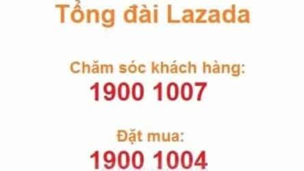 Số điện thoại tổng đài chăm sóc khách hàng hotline Lazada