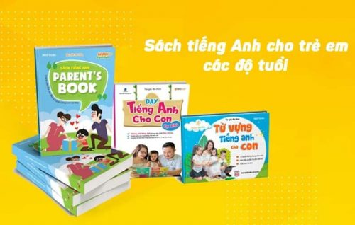 Mua sách Anh văn cho bé