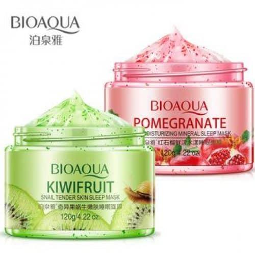 Mặt nạ ngủ hoa quả Bioaqua