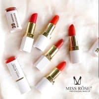 Son Thỏi Miss Rose 3D siêu lì và mềm môi...