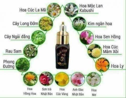 Tinh chất trị nám Linh Hương